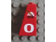Part No: 4460pb004  Name: Slope 75 2 x 1 x 3 with Firefighter Logo and 0 Pattern Right (Sticker) - Set 8280