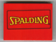 Part No: 4515pb007  Name: Slope 10 6 x 8 with Yellow Spalding Pattern (Sticker) - Set 3432