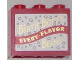 Part No: 4532apb02  Name: Container, Cupboard 2 x 3 x 2 - Solid Studs with 'BERTIE BOTT'S EVERY-FLAVOR BEANS' on White Background Pattern (Sticker) - Set 4841