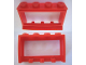 Part No: 453a  Name: Window 1 x 4 x 2 (old type) with Extended Lip and Solid Studs, no Glass
