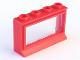 Part No: 453bc01  Name: Window 1 x 4 x 2 (old type) with Extended Lip, with Glass