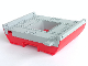 Part No: 47983c01  Name: Boat Hull Giant Middle 16 x 22 Complete Assembly, Top Color Light Bluish Gray