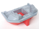 Part No: 47986c01  Name: Boat Hull Giant Stern 16 x 22 Complete Assembly, Top Color Light Bluish Gray