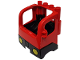 Part No: 48125c01  Name: Duplo Truck Semi-Tractor Cab with Black Base