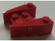 Part No: 50373pb01  Name: Wedge 3 x 4 with Stud Notches with Ferrari Logo Pattern on Both Sides (Stickers)
