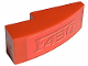 Part No: 50950pb002  Name: Slope, Curved 3 x 1 No Studs with 'F430' Pattern (Sticker) - Set 8671