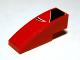 Part No: 50950pb014L  Name: Slope, Curved 3 x 1 No Studs with Black Togokahn Pattern, Model Front Left (Sticker) - Set 8159