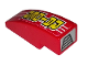 Part No: 50950pb114  Name: Slope, Curved 3 x 1 No Studs with 'RAIDER' and Air Vent Pattern (Stickers) - Set 8130