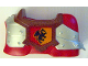 Part No: 51710pb02  Name: Duplo Animal Accessory Horse Barding with Dragon Pattern