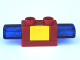 Part No: 52189c01  Name: Duplo Siren with Light and Sound, 1 x 2 Base with Yellow Button