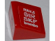 Part No: 54200pb038L  Name: Slope 30 1 x 1 x 2/3 with 'MAHLE', 'OMR', 'SKF' and 'brembo' Pattern Model Left Side (Sticker) - Set 8123