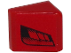 Part No: 54200pb067R  Name: Slope 30 1 x 1 x 2/3 with Black Faded Air Vents on Red Background Pattern Model Right Side (Sticker) - Set 8147