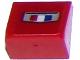 Part No: 54200pb078  Name: Slope 30 1 x 1 x 2/3 with Chevrolet Camaro Logo Pattern (Sticker) - Set 75874