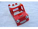 Part No: 59133px1  Name: Duplo Truck Cab with Silver Grille and Headlight Eyes Pattern (Packer)