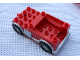 Part No: 59273px1  Name: Duplo Truck Chassis with Silver Trim (Packer)
