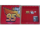 Part No: 59349pb025  Name: Panel 1 x 6 x 5 with 'Ligh' and '95' Outside and Telephone and '95', McQueen and Heart Inside Pattern (Stickers) - Set 8486