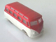 Part No: 607pb01  Name: HO Scale, VW Minibus with White Base