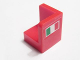 Part No: 6231pb02L  Name: Panel 1 x 1 x 1 Corner with Italian Flag Pattern Model Left (Sticker)