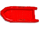Part No: 62812pb10  Name: Boat, Rubber Raft, Large with 3 Patches and Stitches Pattern on Both Sides (Stickers) - Set 60129
