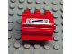 Part No: 6429pb03  Name: Duplo Container Water Container with Fire Shields and Grille Pattern on Both Sides