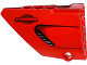 Part No: 64394pb003  Name: Technic, Panel Fairing #13 Large Short Smooth, Side A with Air Intake and Door Handle Pattern (Sticker) - Set 8070
