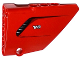 Part No: 64680pb002  Name: Technic, Panel Fairing #14 Large Short Smooth, Side B with Air Intake and 'V8' Pattern (Sticker) - Set 8070