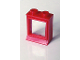 Part No: 7026bc01  Name: Window 1 x 2 x 2 (old type) with Extended Lip, with Glass, Hole in Top