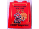 Part No: 76371pb026  Name: Duplo, Brick 1 x 2 x 2 with Bottom Tube with Happy Lunar New Year 2016 Legoland Malaysia Resort Pattern
