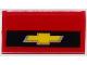 Part No: 85984pb121  Name: Slope 30 1 x 2 x 2/3 with Chevrolet Logo Pattern (Sticker) - Set 75874