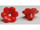 Part No: 93081d  Name: Friends Accessories Flower with 6 Rounded Petals and Pin