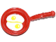 Part No: 93082apb001  Name: Friends Accessories Frying Pan with 2 Fried Eggs Pattern (Sticker) - Set 41034