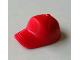 Part No: 93219  Name: Minifigure, Headgear Cap - Short Curved Bill with Seams and Button on Top