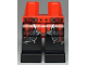 Part No: 970c11pb43  Name: Hips and Black Legs with Ninjago Red Plate Armor and Silver Scale Armor, Belt with Buckles and Red Sash Pattern