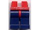 Part No: 970c63pb01  Name: Hips and Dark Blue Legs with Spider-Man Webbing Pattern