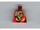Part No: 973pb0074  Name: Torso Castle Dragon Knights Dragon Face breathing Fire Pattern