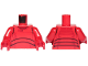 Part No: 973pb3303c01  Name: Torso SW Elite Praetorian Guard Armor Pattern / Red Arms / Red Hands
