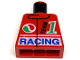 Part No: 973px36  Name: Torso Race Team 1 Racing Pattern