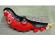 Part No: TRexBod  Name: Dino Body Tyrannosaurus rex with Black Top and Tan Tail