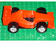 Part No: duplof1  Name: Duplo Car Ferrari F1 Racer