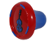 Part No: plug026  Name: Music Builder Sound Plug with blue Contrabass/String Bass pattern
