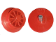 Part No: wheel2a  Name: Train Wheel Spoked for Motor