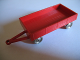 Part No: x1083c02  Name: HO Scale, Mercedes Trailer for Open Bed Truck, Red Flatbed