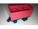 Part No: x488c03  Name: Train Battery Box Car with Black Switch and Black Wheels
