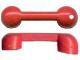 Part No: x659  Name: Fabuland Utensil Telephone - Handset 1 x 4 with Hole