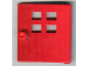 Part No: x988  Name: Duplo Door / Window with Four Windows Narrow