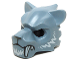 Part No: 15083pb05  Name: Minifig, Headgear Mask Tiger with White Fangs and Fur Pattern