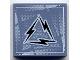 Part No: 3068bpb0069  Name: Tile 2 x 2 with Alpha Team Arctic Lightning Logo Pattern