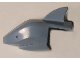 Part No: 53389  Name: Minifigure, Headgear Head Cover, Shark