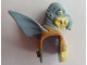 Part No: 92759pb01  Name: Minifig, Head Modified SW Watto with Vest and Belt Pattern