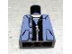 Part No: 973pb0332  Name: Torso Spider-Man Pocketed Snap Vest over Black Zippered Jacket Pattern